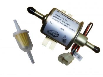 Kraftstoffpumpe 12 Volt universal für viele Anwendungen